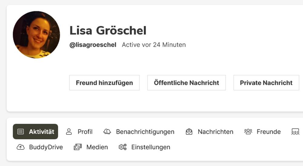 Mentoren-net Screenshot